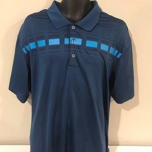 Adidas Golf 2XL Blue Polo